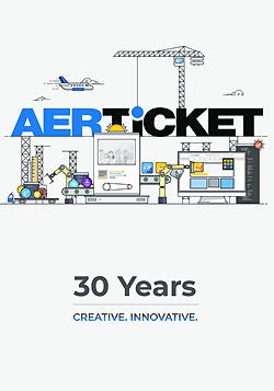 30 Jahre AERTiCKET - Jubiläumsbroschüre